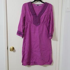 Athleta lanai linen dress